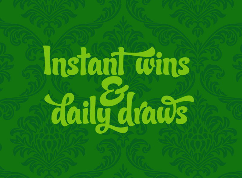 List of UK instant win and daily draw competitions