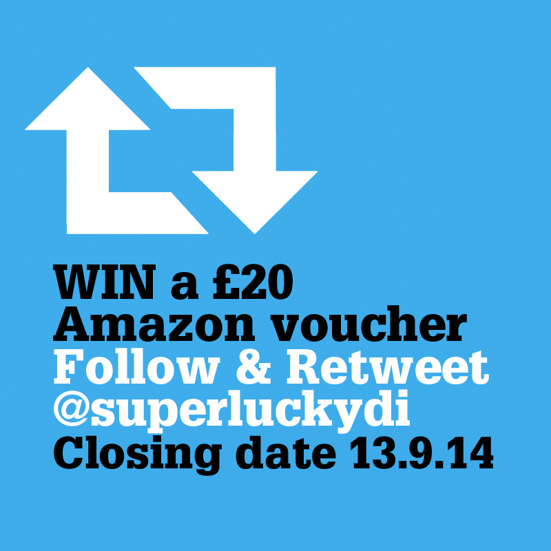 RT to win a £20 Amazon voucher