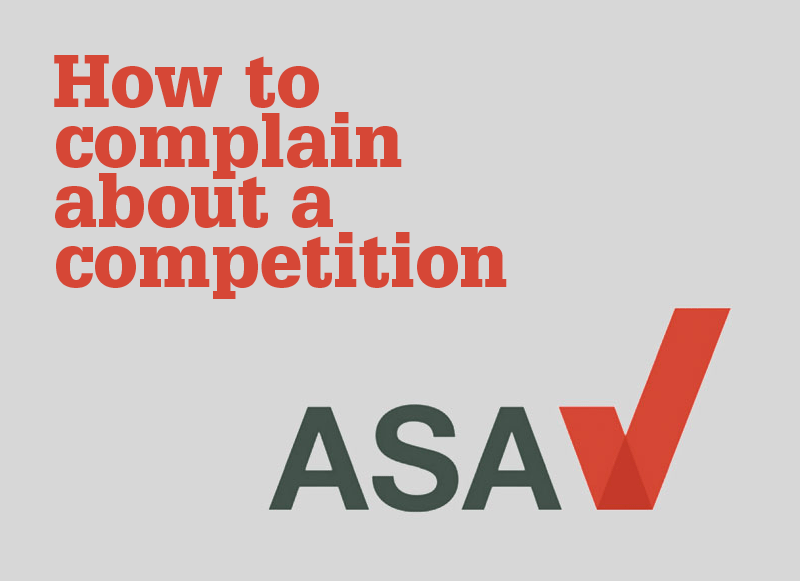 Make a complaint to the ASA