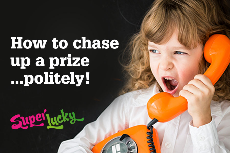 How to chase a prize