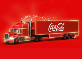 Win a visit from the Coca-Cola truck!