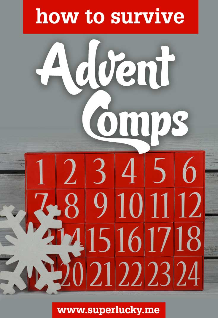 Tips for entering Advent Competitions without getting stressed!