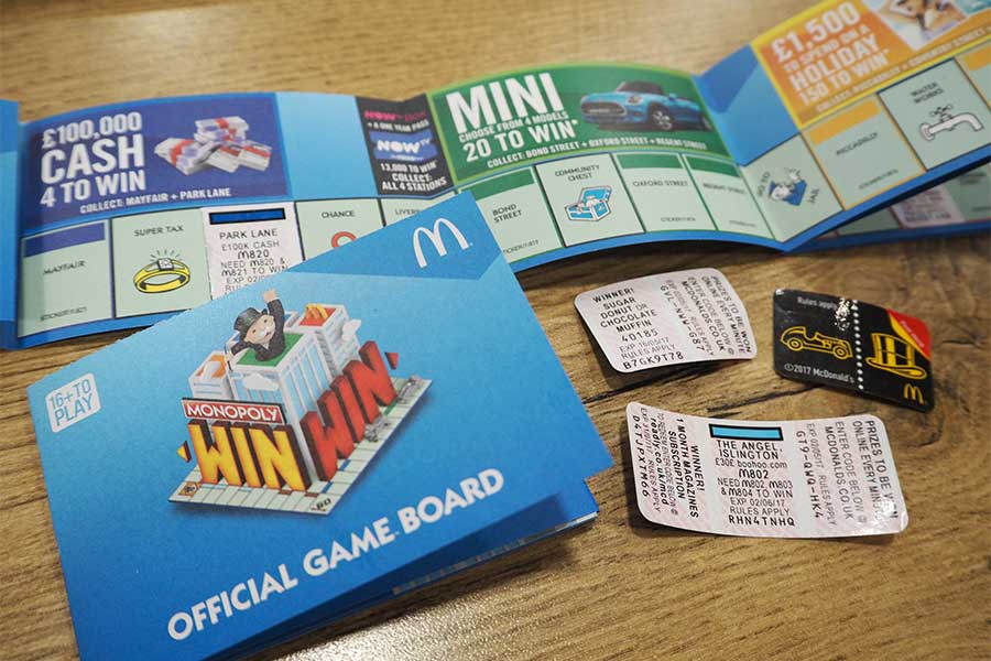is there a mcdonalds monopoly game board 2018 games world. Black Bedroom Furniture Sets. Home Design Ideas