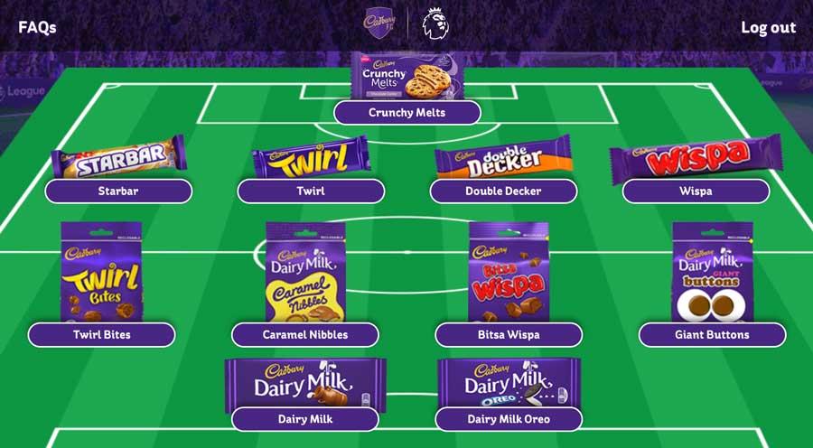Cadbury FC Stadium Instant Win