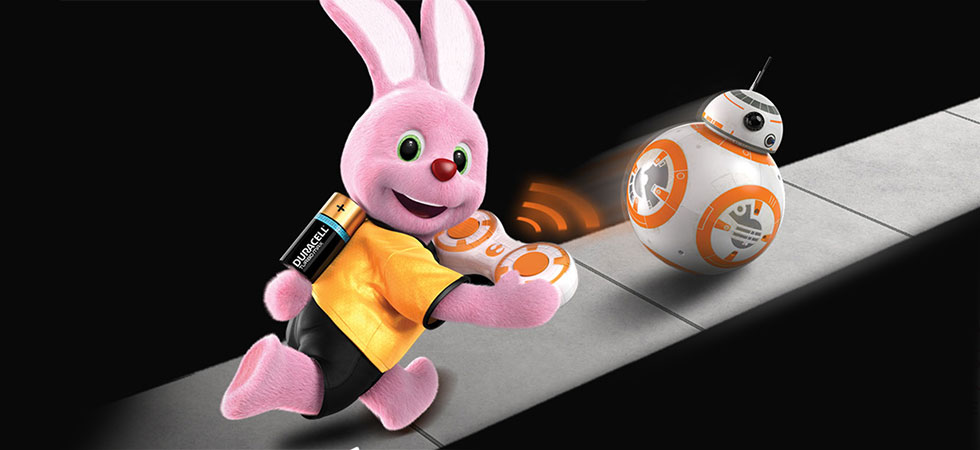 Win a hundred BB8s when you buy Duracell batteries this Christmas!