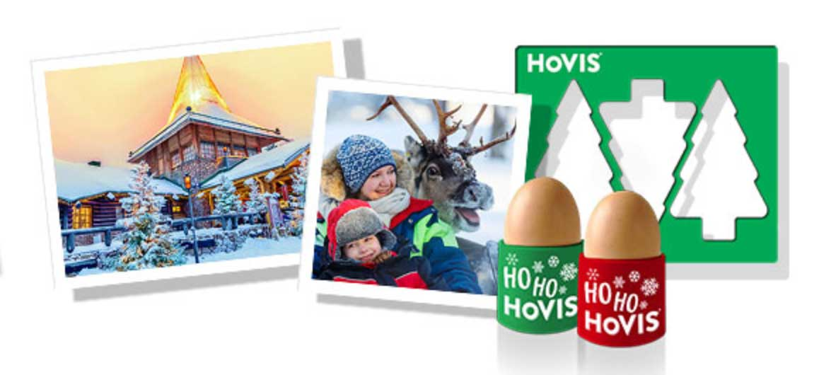 Win a family trip to Lapland, plus 1000 Festive toast cutter and egg cups sets when you buy Hovis Best of Both bread