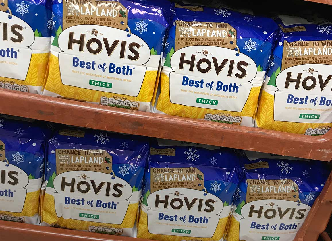 Win a trip to Lapland when you buy Hovis Best of Both bread!