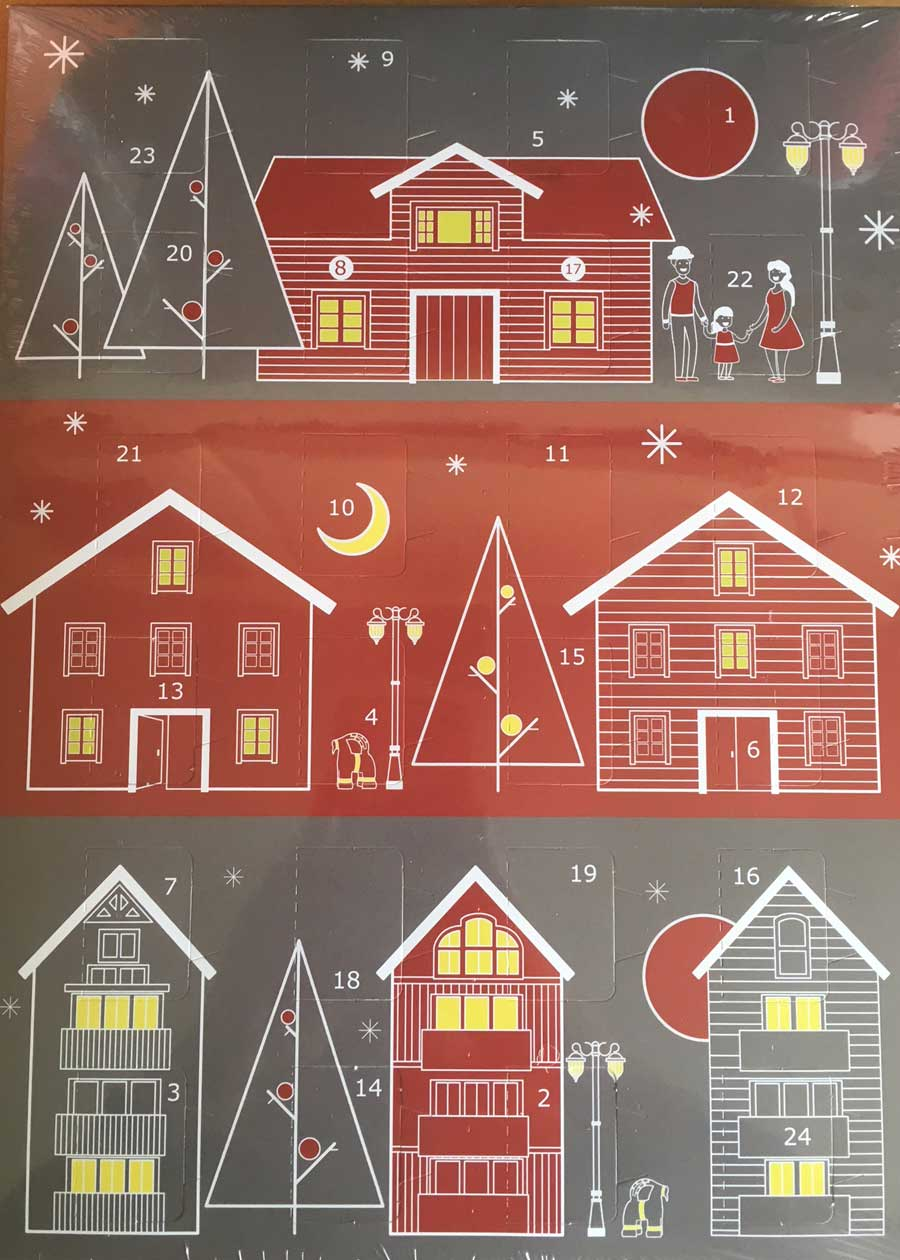 Win prizes when you buy Advent Calendars!