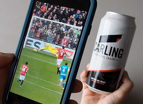 Win prizes every day with the Carling Tap app!