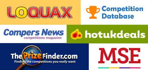List of UK Competiton Websites