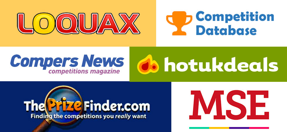 List of UK competition websites | SuperLucky