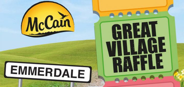 McCain Great Village Raffle - how many prizes were actually won?