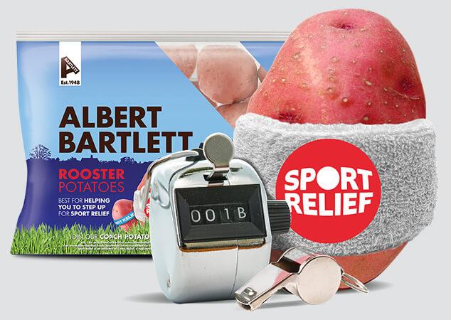 Albert Bartlett Sport Relief prize draw