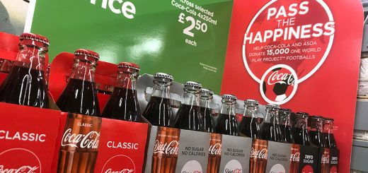 Win 1,000 football prizes when you buy Coke at ASDA!