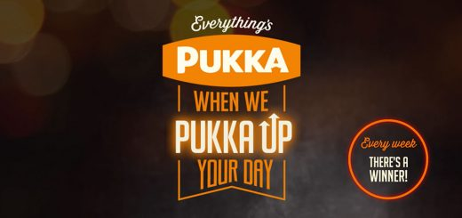 Win £1000 every week with Pukka Pies - just tell them how the prize would brighten your day!