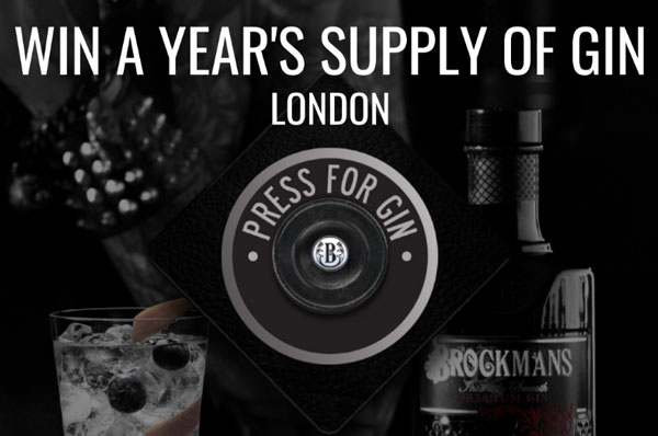 Brockmans Gin Press for Gin