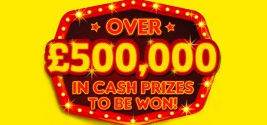 Poundland Big Clean £500k promotion