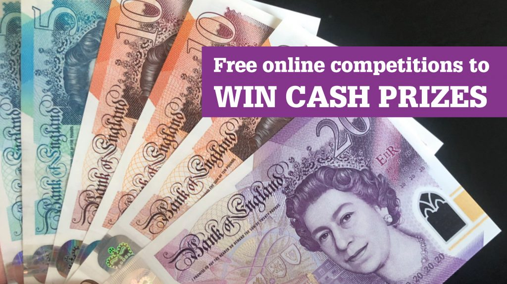 Win cash prizes in free online competitions