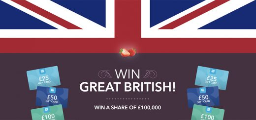 Win £100,000 of prizes ion the Co-op Strawberries Love Great British instant win promotion
